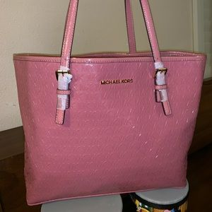 Michael Kors Baby pink tote bag